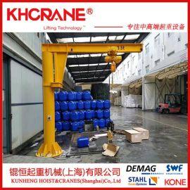 销售上海锟恒BZD1T-5米悬臂吊  悬臂起重机     电动葫芦 KBK配件