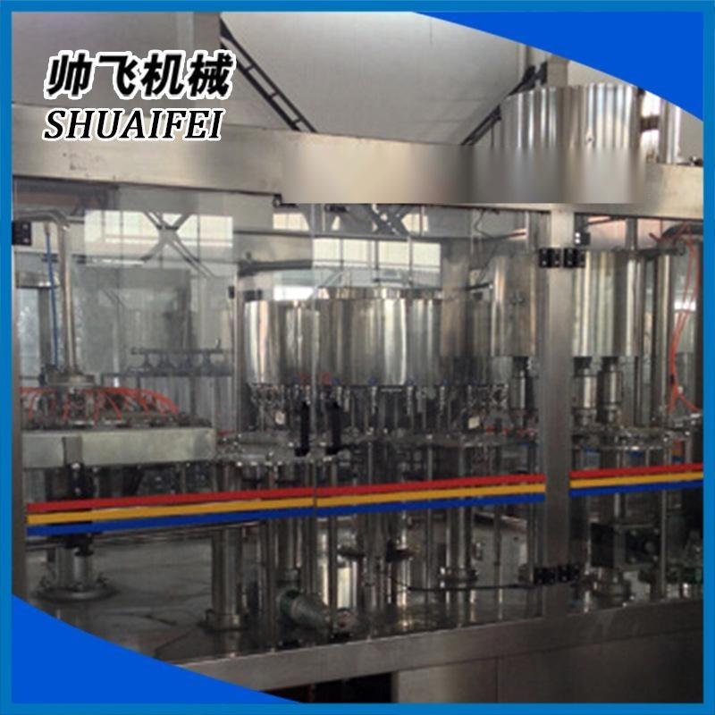 廠家批發  帥飛三合一灌裝機設備 液體灌裝設備 小型液體灌裝設備