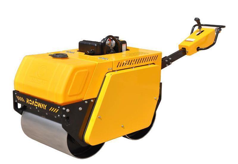 柴油动力手扶式双钢轮振动压路机RWYL32C