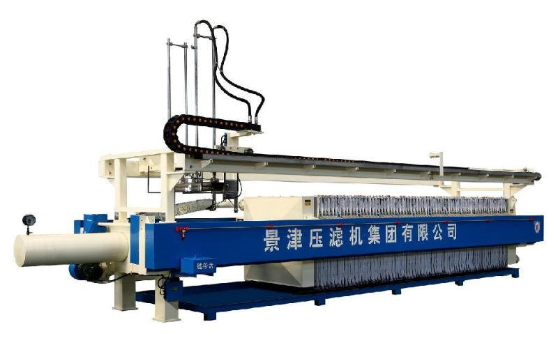 景津1500型自动板框压滤机