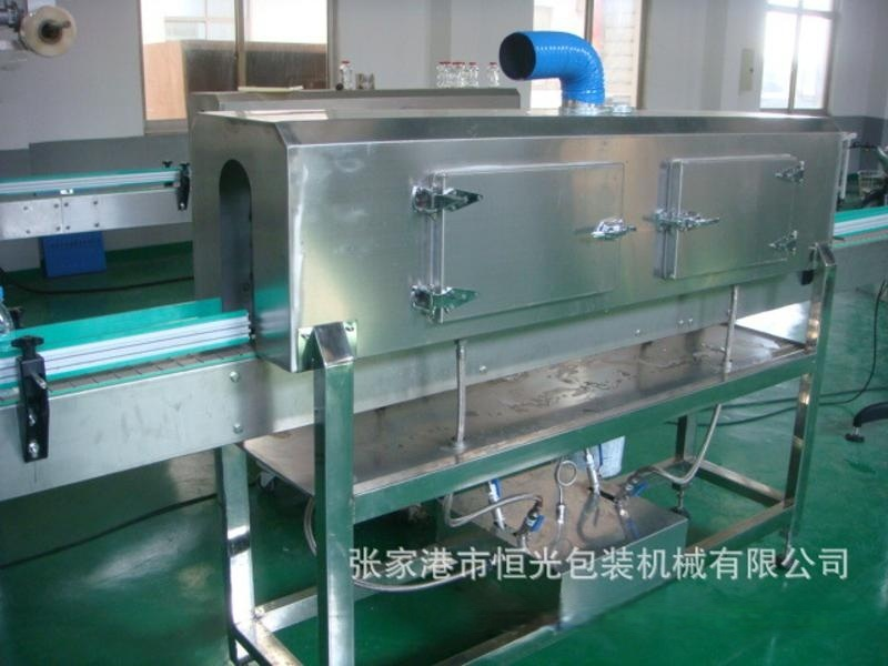 人工套標 標簽收縮爐  蒸汽收縮爐  江蘇廠家直銷