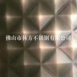 上海KTV/酒店装饰专用304发黑做旧红古铜不锈钢压花板 不锈钢镀铜板加工 发黑红古铜不锈钢
