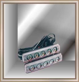 直接接电瓶大功率5珠LED日行灯A05C(牛眼灯)