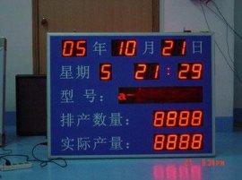 电子生产线电子看板