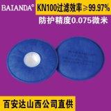 百安達防塵面罩 防塵口罩 工業 防粉塵肺 KN100 過濾棉 過濾元件