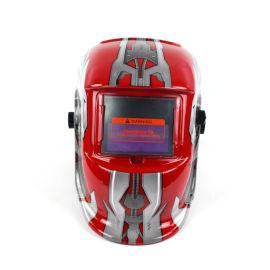 電焊面罩頭戴式防護面罩可換電池變光面罩