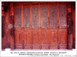 四川木制仿古门窗 木质门窗厂家