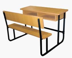 连体课桌椅