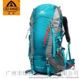 艾王AIONEC防水登山包批發定做戶外雙肩包韓版流行男女大容量揹包