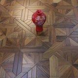 廠家直銷 正宗緬甸柚木米字形實木複合地板 環保藝術