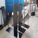 黑钛不锈钢珠宝服装展示柜台