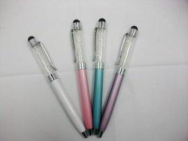 水晶手写笔,圆珠笔,镶砖手写笔