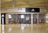 上海豪华商铺铝合金水晶折叠门安装价格