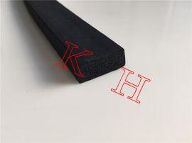 供应25*20海绵密封条 矩形发泡密封条 三元乙丙橡胶条