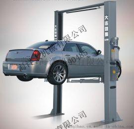 雄狮4吨电子锁龙门举升机 出口二节龙门汽车举升机