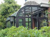 上海别墅钢结构铝合金阳光房搭建设计