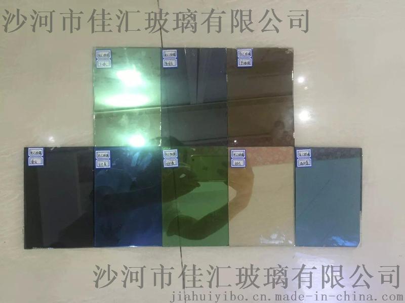 low-e 中空镀膜钢化玻璃 各种颜色中空夹胶钢化玻璃可定制加工