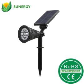 4LED太阳能草坪灯光控太阳能插地灯