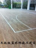 木地板籃球場-專業室內木地板籃球場建設價格