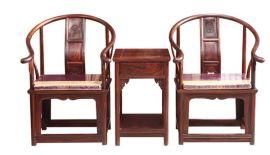 供應江蘇常州帝豪紅木傢俱 圈椅 廠家直銷 紅酸枝 大紅酸枝傢俱