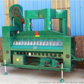 风筛比重精选机,小米成套加工设备,草籽草棍秕谷种子精选机