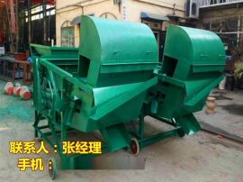 玉米下脚料清理机械/玉米筛漏去皮清选机