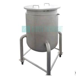 可移动 200L 304不锈钢加温搅拌罐/不锈钢储存罐