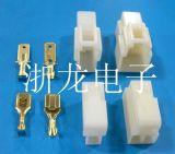 250,6.3mm汽车条形连接器,公母空中对接胶壳