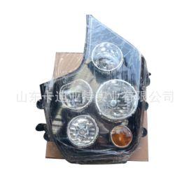 陝汽德龍X3000牽引車大燈總成 德龍X3000原裝前照燈 廠價直銷