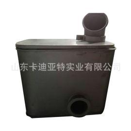 陕汽德龙M3000 排气消声器总成 SZ954000798