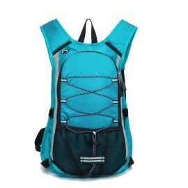 箱包工厂定制骑行背包 户外双肩包定做 可来图定制 可添加logo