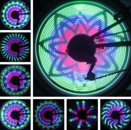 自行车风火轮LEDlighting ,车轮装饰 ,山地车DIY装备 车灯-001
