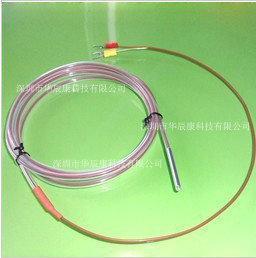 进口三线制温度传感器 热电阻探头PT100/PT1000
