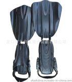 潛水腳蹼 潛水靴蛙鞋/深潛水專用腳蹼 長款重潛腳蹼 可調節腳帶