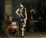 品牌折扣女装批发格蕾斯服饰为您推荐真丝旗袍