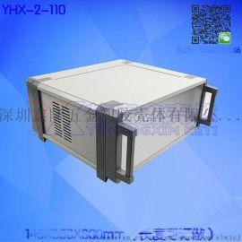 金属仪表外壳 **铝材机箱 全铝工控机箱 功放箱 车载机箱订做