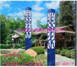 小区园林方形景观灯3米庭院路灯