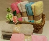 至諾珊瑚絨浴巾 超細纖維柔軟細膩珊瑚絨鎖邊浴巾