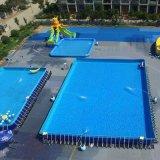 吉林長春大型兒童水上樂園廠家定做上門安裝支架游泳池
