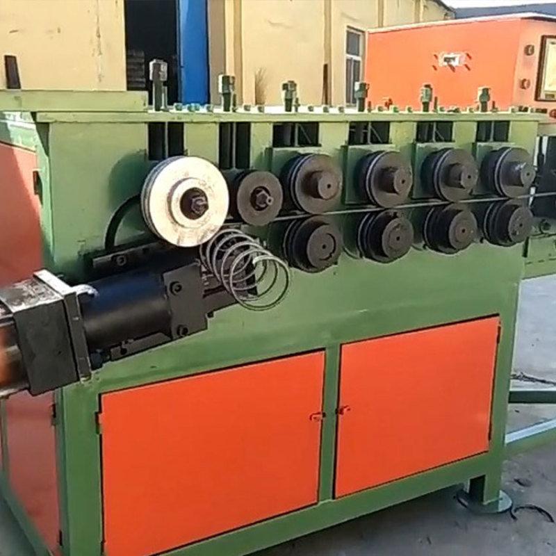 自动螺旋筋成型机,一体化钢筋调直打圈切断机