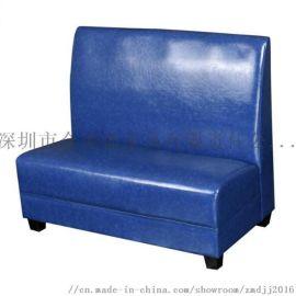 皮制定做沙发卡座,餐厅卡座沙发尺寸,家装卡座沙发椅