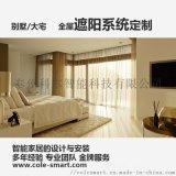 智能装修电动窗帘遮阳控制系统定制与安装