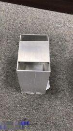 长期供应铝方通堵头 U型铝方通封口 木纹铝方通定制