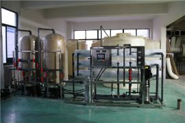 扬州纯水设备,电池溶剂配制用水设备,电池工艺用水设备