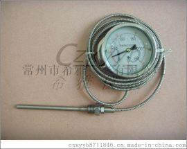 WTZ-280压力式温度计 工业锅炉用温度计 指针温度表 远传温度计