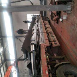 方管抛丸除锈机.钢管抛丸机厂家