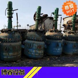转让精品二手5吨搪瓷反应釜,不锈钢反应釜,质量保证