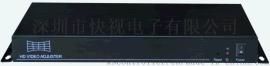快视电子KS-1S 投影机画面弧形校正器,支持任意点校正,任意点压缩,可实现球形,弧形,不等边行,波浪形,桶型,扇形等