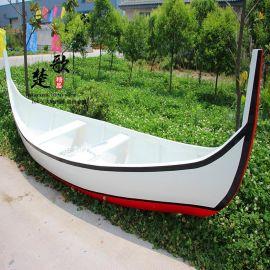 厂家供应 欧式木船 仿古木船 道具船 装饰船 两头尖小木船 手划船