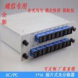 1分16插片式光分路器SC-PC PLC插片式光分路器